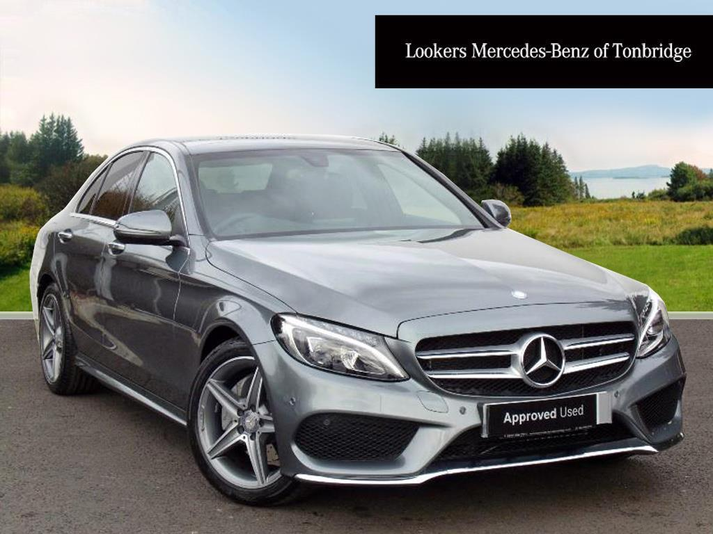 mercedes benz c class c200 d amg line premium grey 2017 03 07 in tonbridge kent gumtree. Black Bedroom Furniture Sets. Home Design Ideas