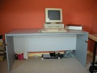 Folding Office Desk / Table (Collect Only - Aberdeen)