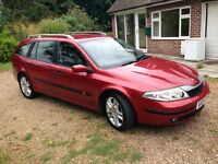 2004 RENALT LAGUNA ESTATE CAR, ALLOYS, 1 OWNER. LONG MOT.