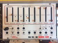 Analogue Solutions Cranial Saw dual VCO, mixer eurorack modular