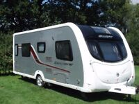 Swift Conquer 565 four berth, twin beds 2013 model