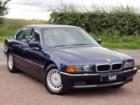 BMW E38 735i Saloon, Automatic, 1998 / R Reg, FSH (18 Stamps), MOT: January 2018, 2 Owners, 128k
