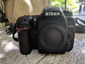 Nikon D7500 + 18-140mm + 35mm + 70-300mm + tripod + bag + extras