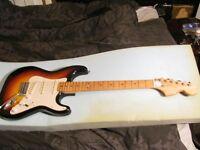Custom (brand) Strat Copy Guitar, Maxon Pickups, Japanese 70's