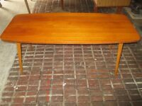 Retro wooden coffee table