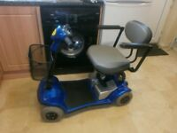 KYMCO CAR BOOT SIZED MOBILITY SCOOTER IN GOOD USED CONDITION WITH RECENT NEW BATTERIES FITTED