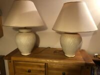 2 fabulous lamps immaculate BELFAST NEWCASTLE can meet deliver pair two matching