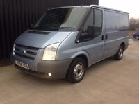 FORD TRANSIT SWB-MET BLUE WANTED IN HAMPSHIRE 2007 on