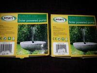 solar pond pump/fountain/irrigation