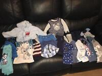 Bundle of baby boys clothes. 6-9 & 9-12 months