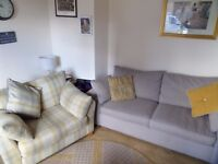 Next 3 seater sofa and chair