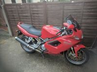 Ducati St4s 2002 red 41600 with panniers 12 months mot