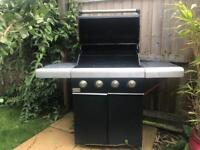 Jamie Oliver Barbecue and gas bottle