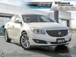 2014 Buick Regal TURBO PREMIUM II**NAV**LTHR**BCK UP CAM**