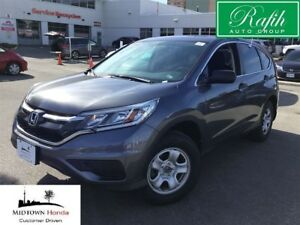 2016 Honda CR-V LX 2WD-Local trade-One owner
