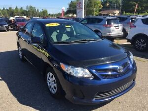 2013 Toyota Corolla CE Manual ONLY $88 BIWEEKLY WITH 0 DOWN!