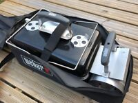 Weber Go Anywhere Charcoal BBQ - Barely Used