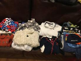 Boys baby clothes (3-9 months)