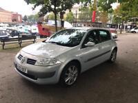 Renault Silver MEGANE 2003