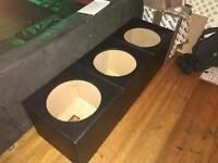 "15"" bass/mid range professional pa speaker boxes"
