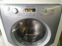 Hotpoint aqualtus 9kg washing machine super silent