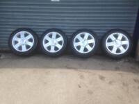 "Renault 17"" alloys"