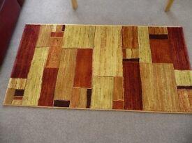 Ragolle Galleria rug made in Belgium. Size..80 x 150. Excellent condition. No pet no children home.