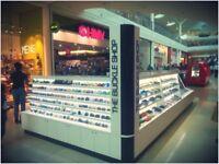 Retail Kiosk - Bespoke Display Corian Unit - Business Apportunity