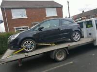 2008 vauxhall corsa for breaking everything apart from engine
