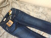 Men's Pepe flared jeans size 28/32 brand new