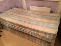 Single Bed and two mattresses