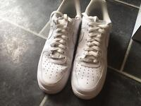 White Air Force one. size 10