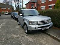 2007 land rover range rover sports hse 3.6 td v8 engine mint condition