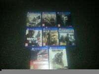 PS4 GAMES BUNDLE.. will not sell seperately