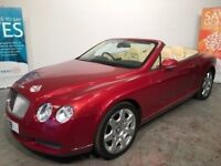 BENTLEY CONTINENTAL GTC 2008 16,000 MILES ONLY STUNNING CAR