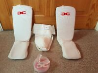 Kids Karate pads, groin guard and gum shield