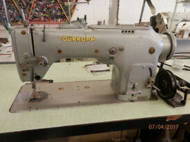 Durkopp Zig Zag/Straight Stitch Industrial Sewing Machine, Reduced from £600