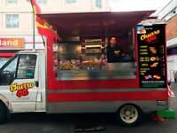 The best catering van (burguer, hot dog, normal food....)