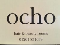 CHAIRS FOR RENT..OCHO HAIR AND BEAUTY ROOMS MACDUFF