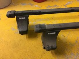 Thule Roof bars with foot pack 754