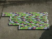 Fluorescent light tubes x 18 brand new