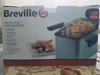 Breville stainless steel fryer