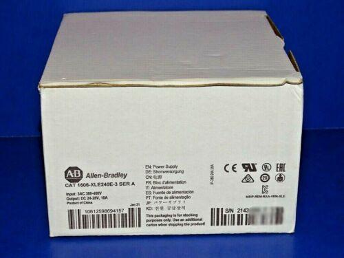 2021 NEW IN ORIGINAL BOX Allen Bradley 1606-XLE240E-3 /A Power Supply