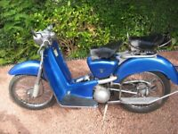 WANTED CLASSIC/NEW/VINTAGE/PROJECTS MOTORCYCLES SCOOTERS MOPED CALL 01695372072