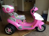Girls electric scooter see ad