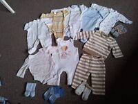 Next mini club united colours of benetton bundle sleepsuits New Born
