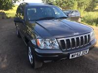 JEEP GRAND CHEROKEE OVERLAND 2.7 CRD 2002