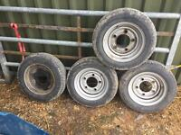 Trailer Wheels tyres
