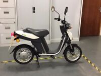 Yamaha Electric Scooter 2014 Reg