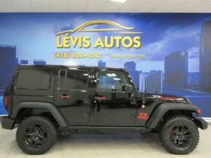 2015 Jeep WRANGLER UNLIMITED RUBICON 6 VITESSE CUIR BLUETHOOTH 4